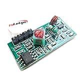 HiLetgo 315Mhz 無線受信モジュール 警報発射器 超再生モジュール Arduinoと互換 [並行輸入品]