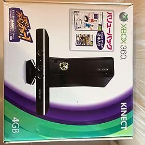 Xbox 360 4GB + Kinect バリューパック(Kinectゲーム2本同梱)【メーカー生産終了】