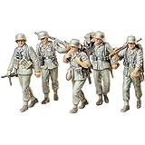 タミヤ 1/35 ミリタリーミニチュアシリーズ No.184 ドイツ陸軍 機関銃チーム 行軍セット プラモデル 35184