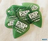 ESP ウルテム製ピック ×10枚セット ティアドロップ/グリーン/1.0mm [PT-PSU10 GR]