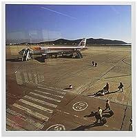 Nano Calvo Ibiza–乗客Walk to commercial Airbus a320in Ibiza Airport、スペイン–グリーティングカード Set of 12 Greeting Cards