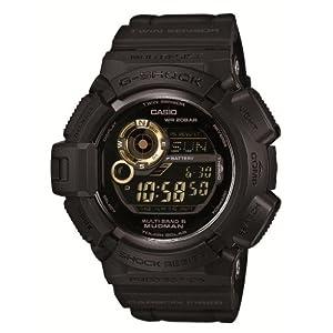 [カシオ]CASIO 腕時計 G-SHOCK Black×Gold Series マッドマン 世界6局電波対応ソーラー GW-9300GB-1JF メンズ