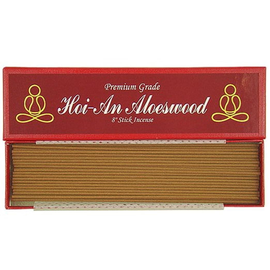 面白い拒絶夕食を作るプレミアムVietnamese hoi-an Aloeswood – 8 Inches Stick Incense – 100 % Natural – g054s