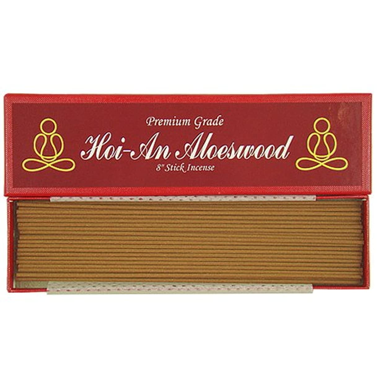予防接種よく話されるソーダ水プレミアムVietnamese hoi-an Aloeswood – 8 Inches Stick Incense – 100 % Natural – g054s