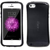 Bidear)iPhone5/5s/5SE ケース iFace mallケース 全面保護 耐衝撃 カバー 黒