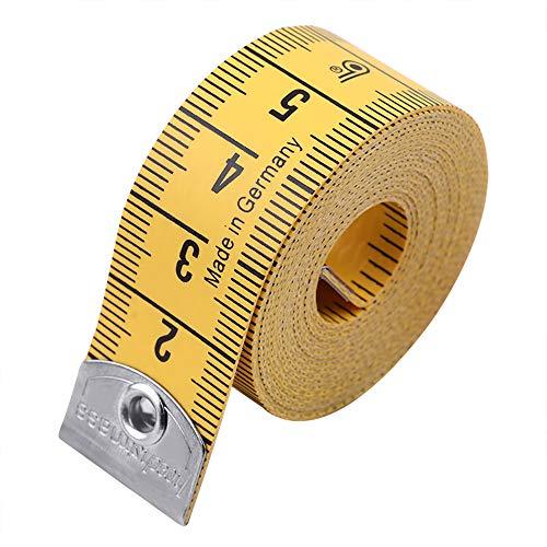 Jimjis メジャー 裁縫用 テープメジャー 布 洋裁道具 採寸 巻き尺 ...