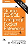 Oracle PL/SQL Language: Pocket Reference