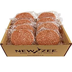 NEWZEE ハンバーグ パティ ニュージーランド 150g×8枚 (合計1.2kg) Hamburger Patties 冷凍ハンバーグパティ
