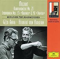 Mozart;Piano Conc.21/Syms.35+4