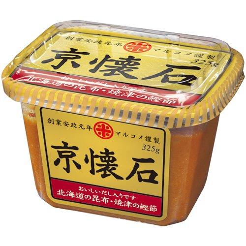 マルコメ 京懐石 だし入り味噌 北海道の昆布・焼津の鰹節 325g×10個