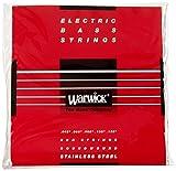 WARWICK ワーウィック エレキベース弦 5弦セットステンレス 42301 RED Strings  Medium Low B 045/135