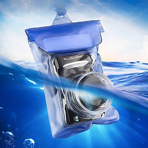 デジカメ防水ケース 小型デジタルカメラ専用防水ケース 100...