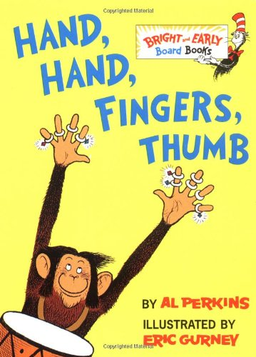 Hand, Hand, Fingers, Thumb (Bright & Early Board Books(TM))の詳細を見る