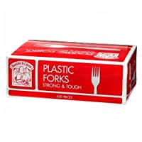 Bakers & Chefs Plastic Forks - 600 ct. by Bakers & Chef's [並行輸入品]