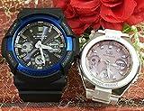 カシオCASIO 腕時計 G-SHOCK ペアウォッチ 純正ペアケース入り ジーショック&ベビージー 2本セット GAW-100B-1A2JF MSG-W100-7A3JF