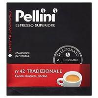 (Pellini) No.42のTradizionale挽いたコーヒー500グラム (x4) - Pellini No.42 Tradizionale Ground Coffee 500g (Pack of 4) [並行輸入品]