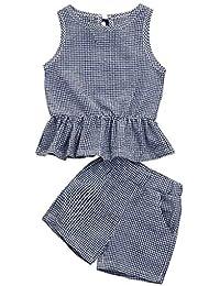 子供服 Jopinica こども 格子 ちょう結び ベスト+パンツ 2PCS かわいい 普段着 個性 綿 ユニーク プレゼント 新生児 通園 通学 入園式 人気 誕生日 プレゼント