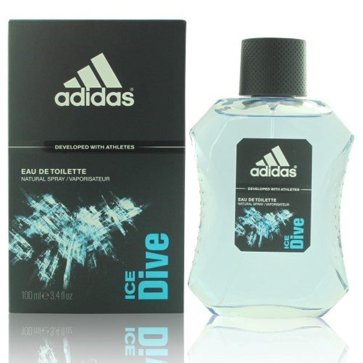 終わり順番咳【アディダス】Adidas アイスダイブ オードトワレ 100ml