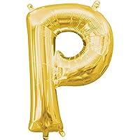 アナグラム アルファベット ナンバー エアフィルバルーン 約35cm (P)