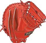 ゼット(ZETT) 少年野球 軟式 キャッチャーミット ネオステイタス 右投げ用 レッド(6400) BJCB70112