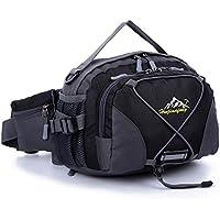 ヒップバッグ ショルダーバック ウエストバッグ 手持ちバッグ 登山 旅行、サバゲー、釣り、サイクリング、自転車、アウトドア 撥水素材 3 way バッグ