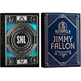 wilddeckdotcom Saturday Night Live W/ジミー?ファロン(Saturday Night Live &ジミー?ファロン) 2-deck Set Playing Cards by理論11