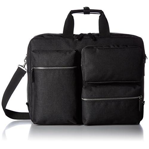 [アジア・ラゲージ] A.L.I ビジネスバッグ A4ファイル収納可能 PC収納 キャリーON 多機能ポケット 軽量720g 通勤 通学 メンズ AJM-3423 AJM-3423 BK (ブラック)