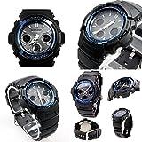 [カシオ]CASIO 腕時計 Gショック 電波 ソーラー マルチバンド6 AWG-M100A-1A ソーラー電波時計 メンズ 【逆輸入】