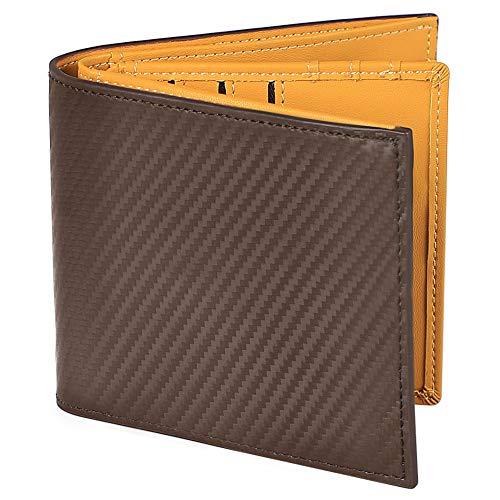 財布 メンズ 二つ折り ボックス型小銭入れ 本革 おしゃれ