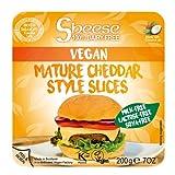 【クール便】Sheese 植物性ヴィーガンチーズ 【熟成チェダー】【スライス】 とろけるタイプ シーズ | ピザ、サンドイッチ、グラタンなどに