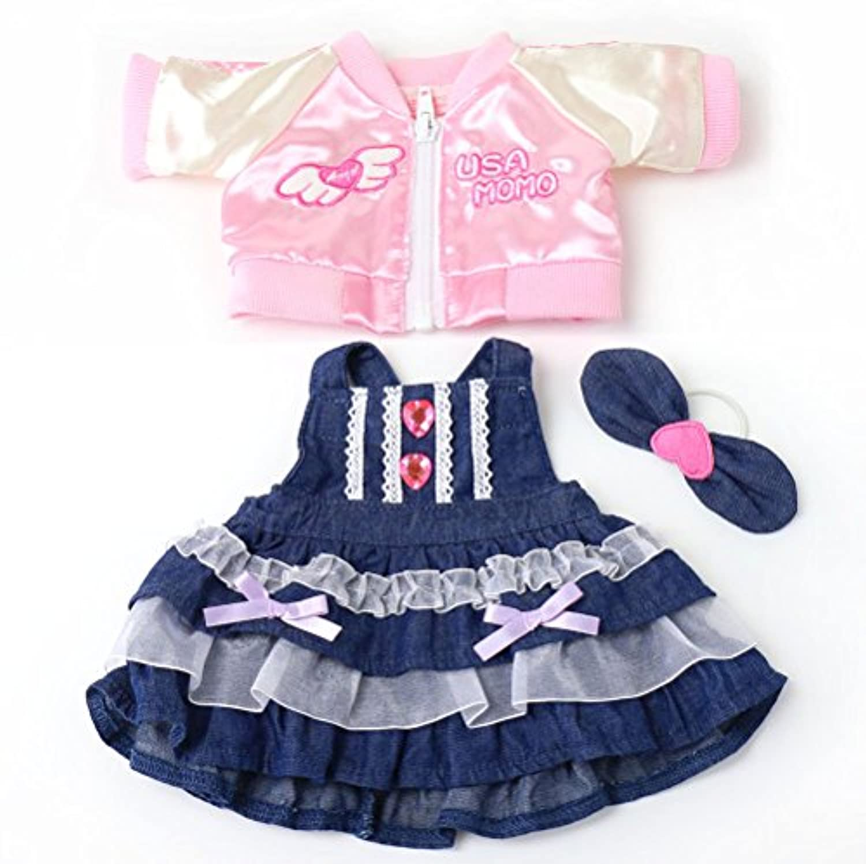 マザーガーデン Mother garden うさももドール 着せ替え人形 服 スカジャン&サロペット Mサイズ 777-58626