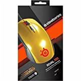 SteelSeries USB Optical Mouse Rival 100 Alchemy Gold 有線ゲーミングマウス [並行輸入品]