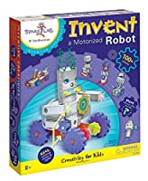 "(Invent a Motorized Robot) - Creativity For Kids Spark Lab Smithsonian ""Invent a Motorised Robot"" Model Kit"