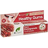 Dr有機ザクロ歯磨き粉 - Dr Organic Pomegranate Toothpaste (Dr Organic) [並行輸入品]