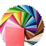 HaAimNay カット フェルト カラー 40色 セット 厚さ 1.0mm 30㎝ × 30㎝ 手芸 ハンドメイド 材料
