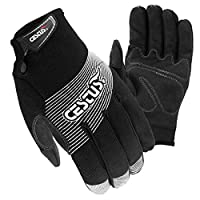Cestus 6021 XL Trade Series Genu Ii Utility Work One Pair Glove, Black - Extra Large