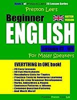 Preston Lee's Beginner English Lesson 41 - 60 for Malay Speakers (British)
