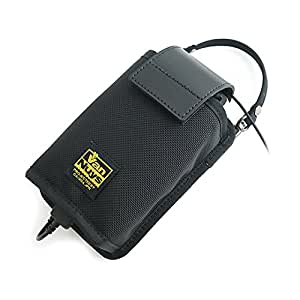 バンナイズ SONY ポータブル ヘッドホン アンプ 「 PHA - 2 」 と ウォークマン F880 シリーズ や iPod 、 iPhone 、 イヤフォン を 接続 した まま 収納 して 持ち 運び できる SONY ポータブル ヘッドホン アンプ 「 PHA - 2 」 と ウォークマン F880 シリーズ iPod iPhone 用 キャリング ケース ( バリスティック ナイロン 製 / ブラック ) ( セパレート タイプ の ぬめ 革 ストッパー 、 帆布 の バッグ 用 ストラップ 付き )