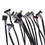 e-tsuhan 14個ユニバーサルFPC / LVDSディスプレイケーブルで10-65インチスクリーンLCDコントローラーボードサポート S91144074 [並行輸入品]