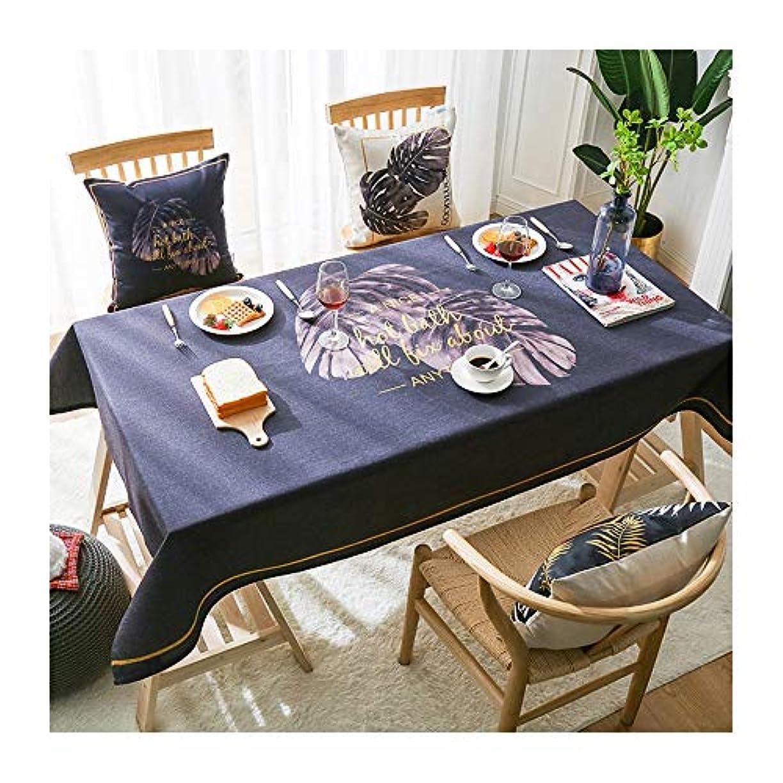 ジェスチャー逆ただやる北欧純赤防水と防油テーブルクロス生地コーヒーテーブルテーブルクロス家庭用長方形テーブルクロスデスククロス LUYIYI (Color : A, Size : 85*85cm)
