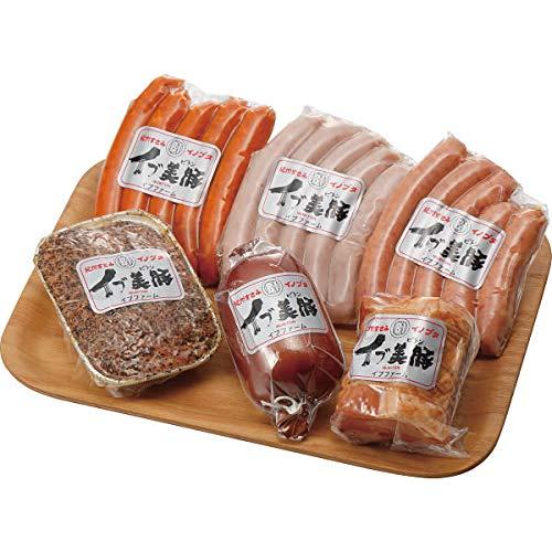 「イブ美豚」(猪豚肉) 手作りハム&ウインナーセット お中元お歳暮ギフト贈答品プレゼントにも人気