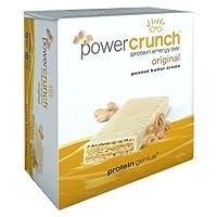 BioNutritional Research Group Power Crunch Bar 12 Bars Peanut Butter Creme [並行輸入品]