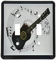 3drose LLC lsp _ 50912_ 2音楽ノートNギターダブル切り替えスイッチ