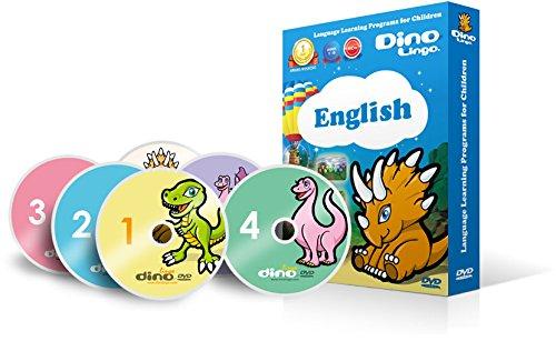 子供の英語学習DVD6枚セット-見ているだけで話せる言葉がどんどん増える魔法の教材。Dino Lingo(NTSC) [Import]