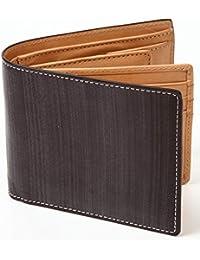 [ポルトラーノ] ブライドルレザー 二つ折り財布 本革 メンズ