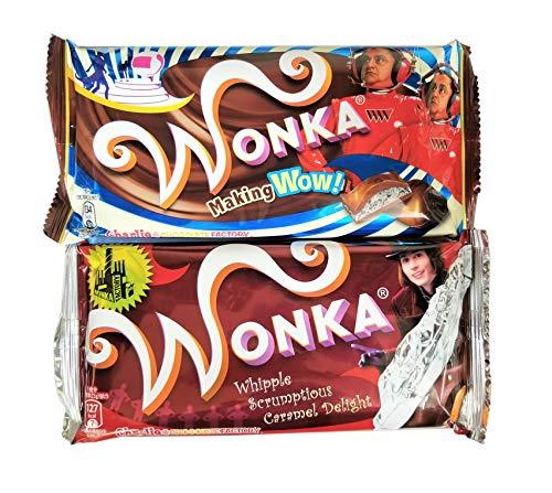 ウォンカチョコレート キャラメルとクッキー&クリームの2枚セット
