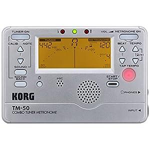 KORG チューナー/メトロノーム TM-50 SL シルバー
