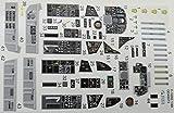 クインタスタジオ 1/48 F-105G 内装3Dデカール (ホビーボス用) プラモデル用デカール QNTD48073