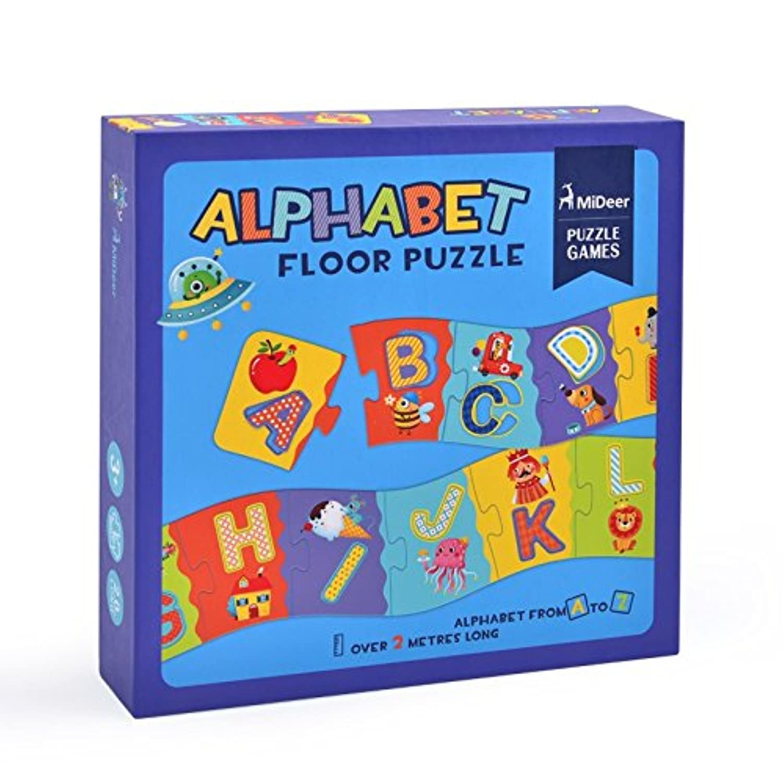 子供向けパズル ジクソーパズル ベビー キッズ Mideer ミディア アルファベットパズル 知育玩具