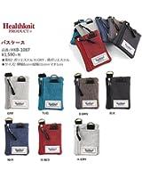 Healthknit ヘルスニット パスケース 定期入れ 小銭入れ メンズ レディース ユニセックス カジュアル カラフル ペアルック